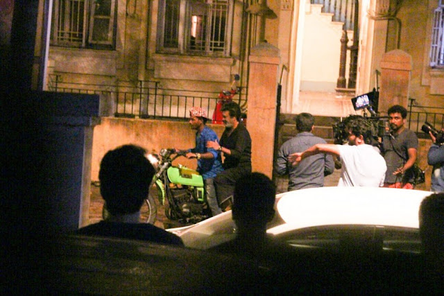Rajinikanth Spotted at Andheri Shooting for Upcoming Movie Kaala Karikaalan