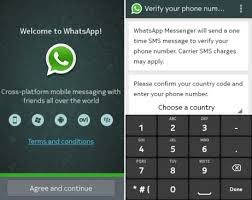 Create a whatsapp account