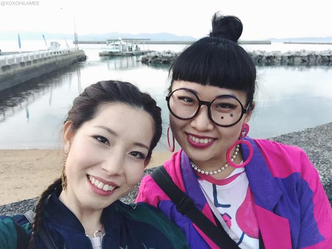 瀬戸内国際芸術2016 豊島 豊浦港 Mizuho&Kanaho