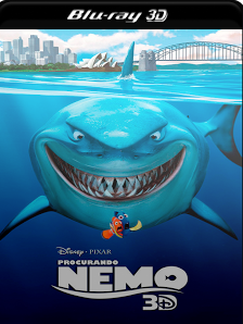 Procurando Nemo 2003 Torrent Download – BluRay 3D HSBS 1080p 5.1 Dual Áudio