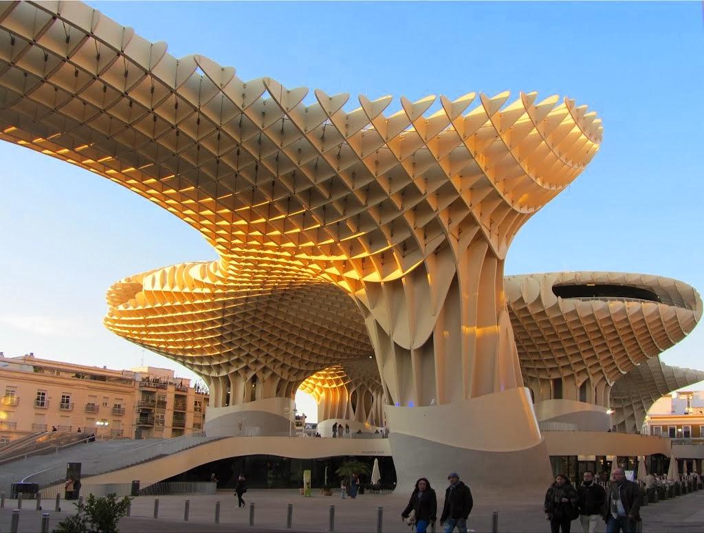Design Dautore Com Metropol Parasol Seville Spain