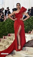 Deepika Padukone Looks stunning in Red Gown at 2018 MET Costume Insute Gala ~  Exclusive 08.jpg