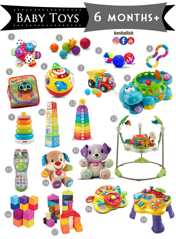 Toys For 6 Month Olds  Wow Blog