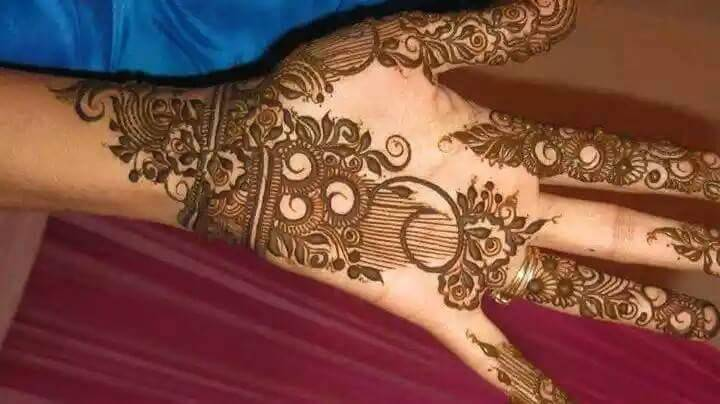 Arabic Mehndi Design For Men: Stylish Arabic Mehndi New Designs Collection 2015