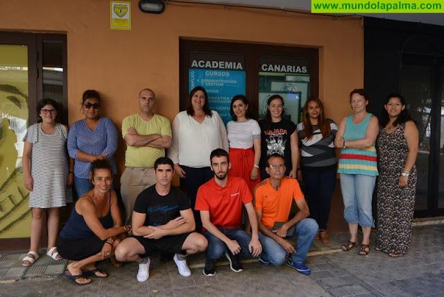 El Ayuntamiento de Santa Cruz de La Palma concluye un programa de cursos formativos con cerca de 200 participantes