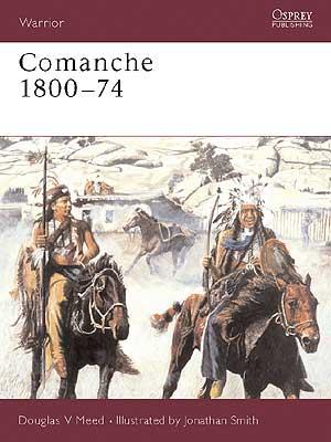 Livro Comanches - Douglas V. Meed