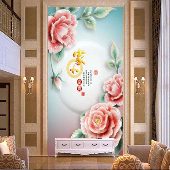Tranh Trang Trí Decor_Tranh Hoa 3d