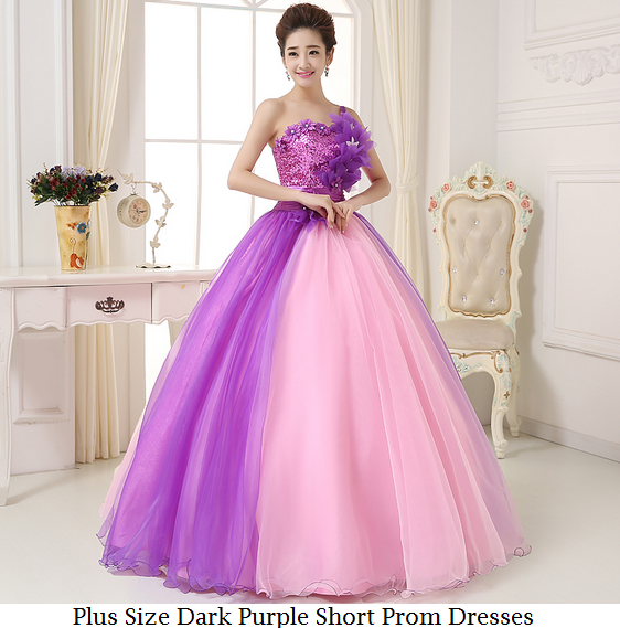 Plus Size Dark Purple Short Prom Dresses ~ Pageant dresses for girls