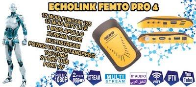 تقديم خصلئص جهاز ايكولينك FEMTO PRO 4 الجديد من شركة ECHOLINK
