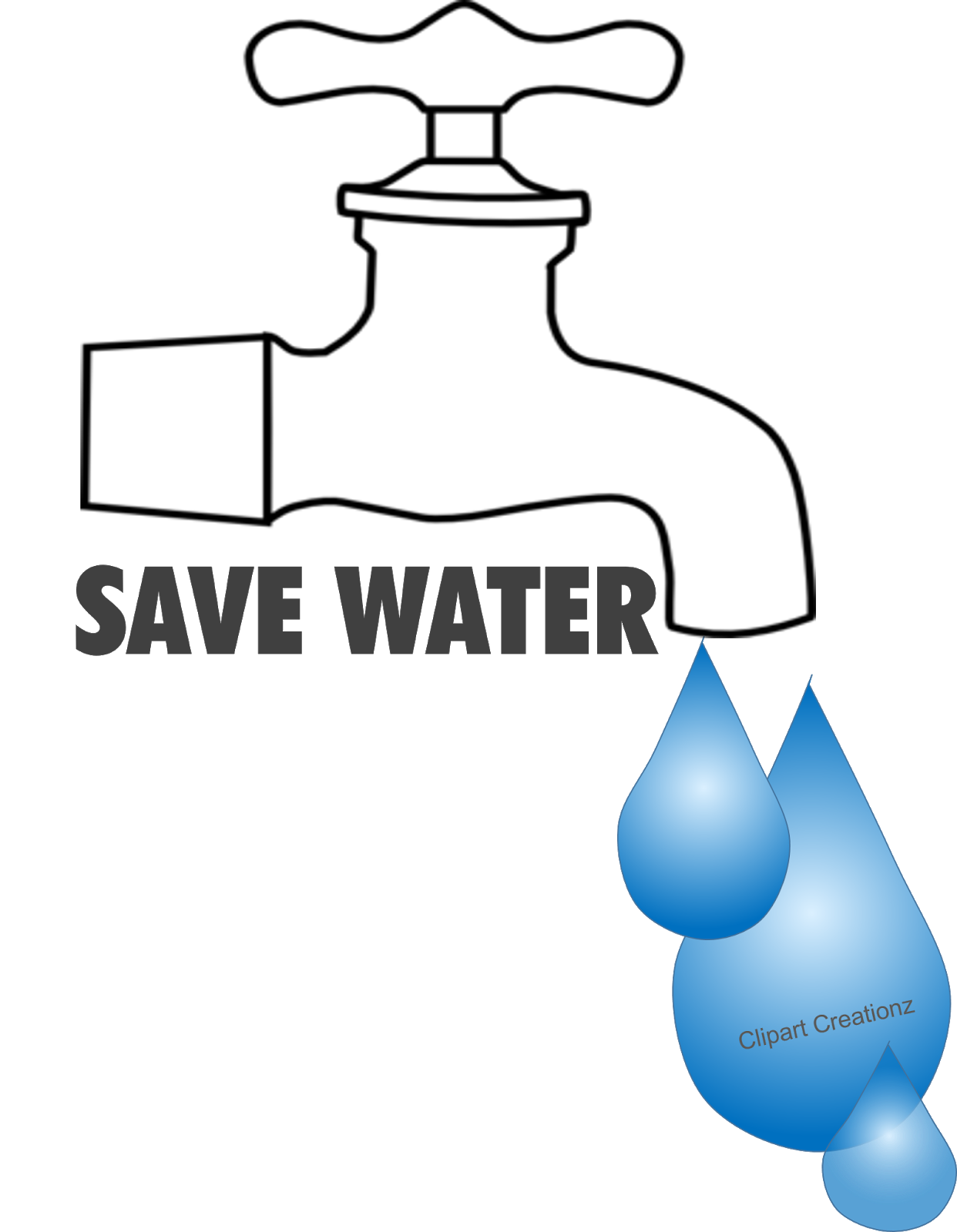 Save Water Poster Free