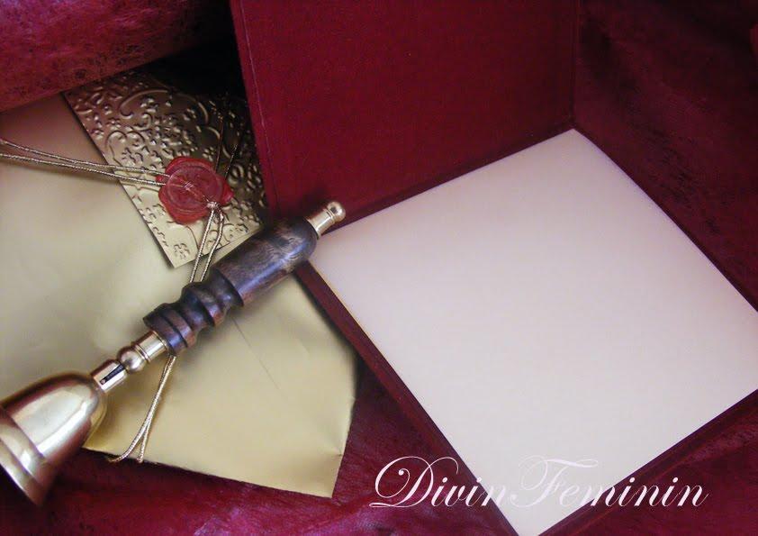 Velvet Wedding Invitations: DivinFeminin By NataliaMarcu: Velvet Wedding Invitations