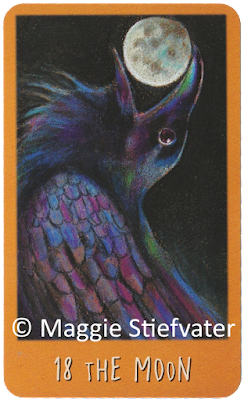 Raven's Prophecy The Moon Maggie Stiefvater blog logger