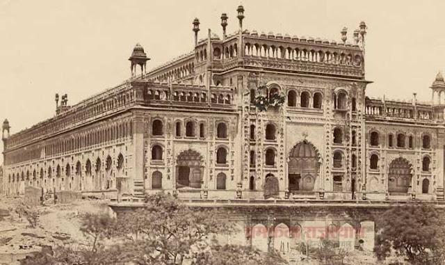 कैमरे ने वो देखा जो किसी ने नहीं देखा, ImambaraofLucknow 1858