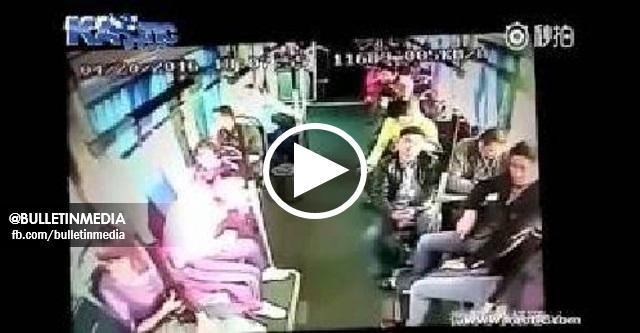 [VIDEO] Rakaman bagaimana keadaan di dalam bas apabila di langgar lori. Masya Allah!! NGERI Tengok..