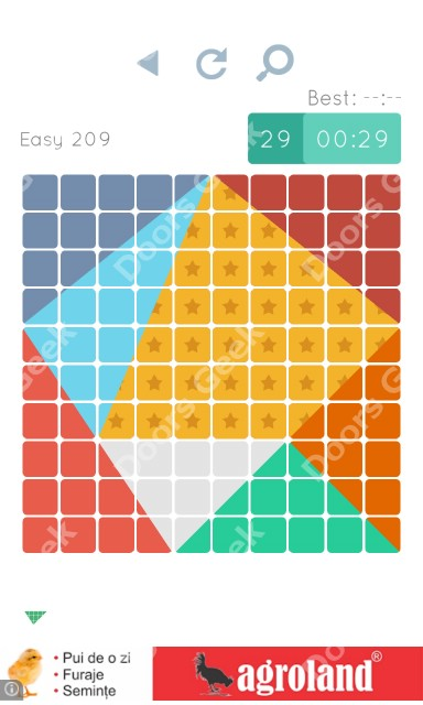 Cheats, Walkthrough for Blocks and Shapes Level 209