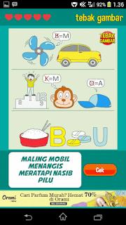 Kunci Jawaban Tebak Gambar Level 16 nomor 10