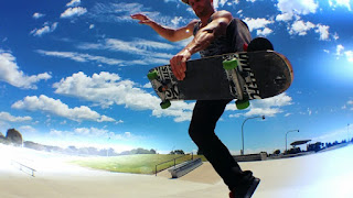 Mark Jansen Adelaide Skateboarding West Beach Sky