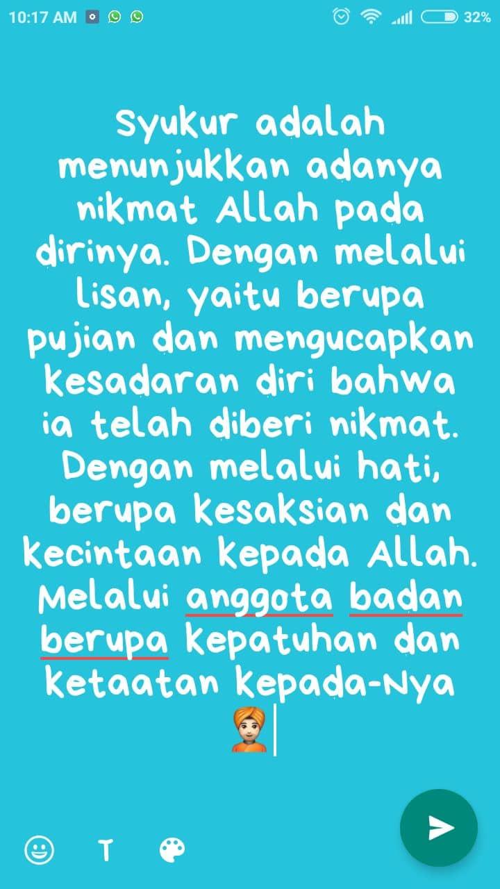Kata Kata Buat Bio Fb Islami Nusagates