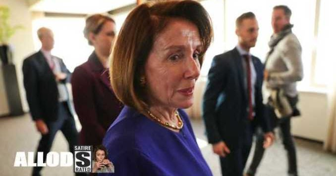 Dems Quietly Remove Drunk Nancy Pelosi From the House Floor