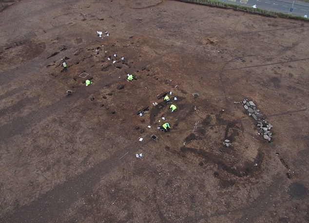 Late Bronze Age weapons hoard dug up at Scottish building site
