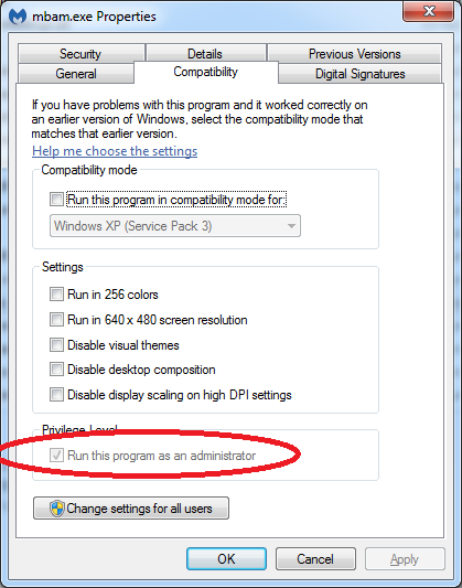 Loza's Blog: Malwarebytes Cannot Start A Scan While Another