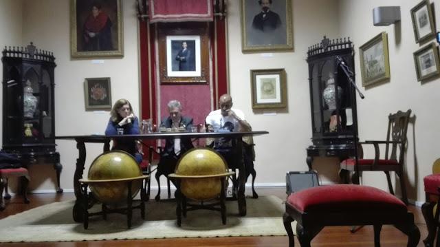 1º JORNADA DEL CICLO DE LECTURA. Cecilia Domínguez Luis, Premio Canarias de Literatura.