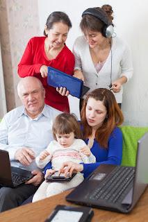 la importancia de la familia para los adultos mayores