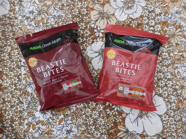 Asda Beastie Bites, vegan monster munch.  What do vegans eat?  Vegan meal and snack ideas. secondhandsusie.blogspot.com #veganblogger #vegan