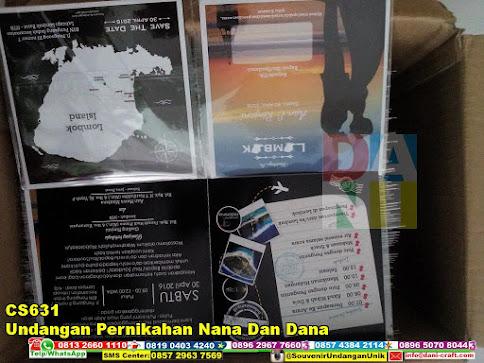 jual Undangan Pernikahan Nana Dan Dana