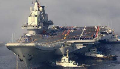 Penampakan Kapal Induk Milik Tiongkok
