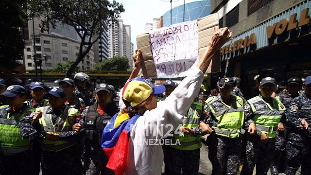 El Observatorio Venezolano de Conflictividad Social (OVCS) registró 983 protestas en el mes de septiembre del año en curso, un promedio de 33 manifestaciones diarias