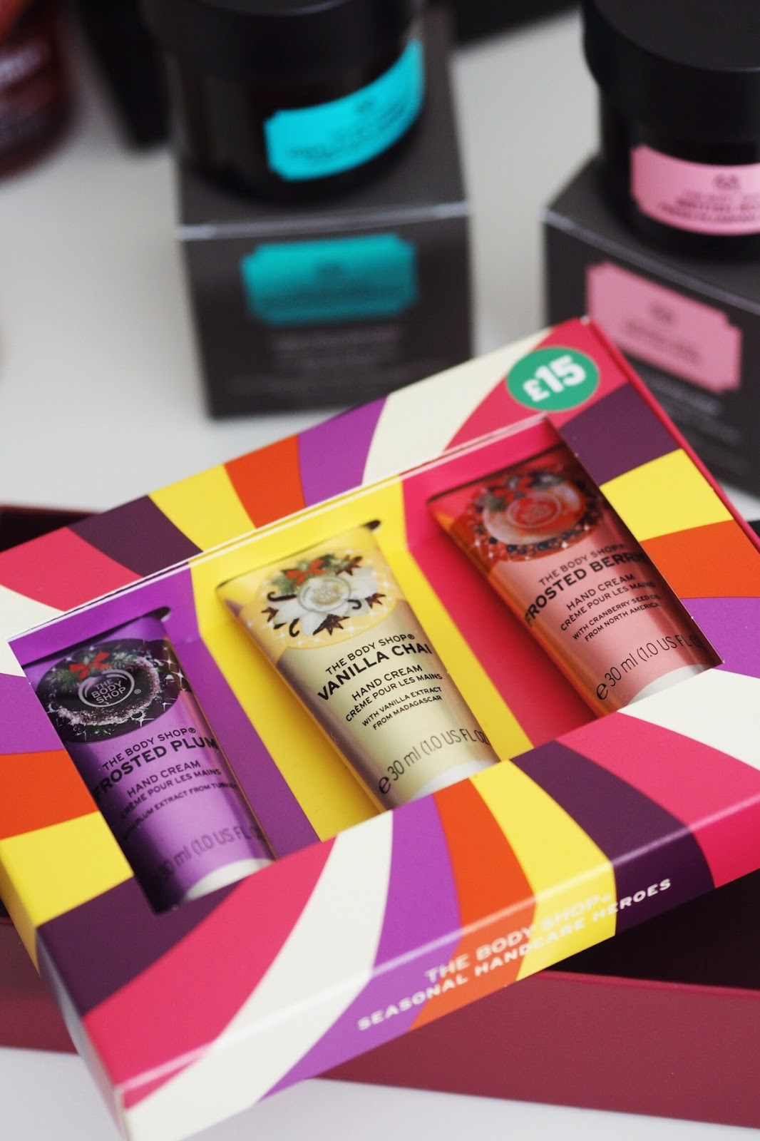 The Body Shop christmas 2017