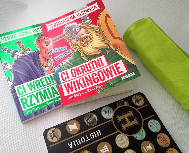 """Strrraszna historia: """"Ci okrutni Wikingowie"""" oraz """"Ci wredni Rzymianie"""""""