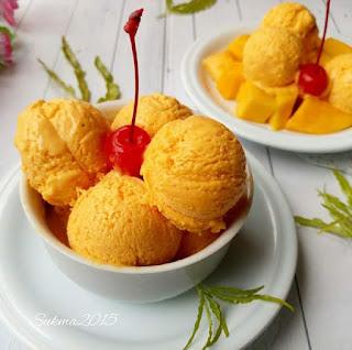 Ide Resep Membuat Es Krim Mangga