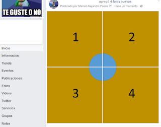 4 imágenes en facebook que formen una sola