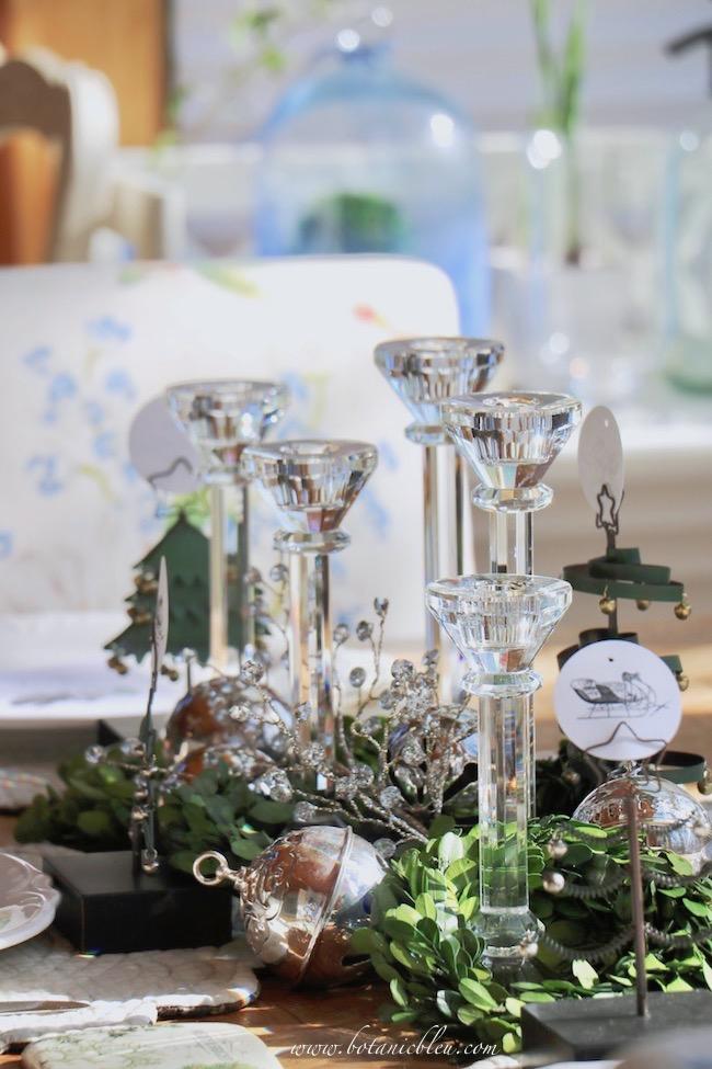 christmas-sleigh-bell-tablesettimg-crystal-candlesticks