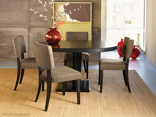 asian dining room chairs | New Asian Dining Room Furniture Design 2012 from HAIKU ...