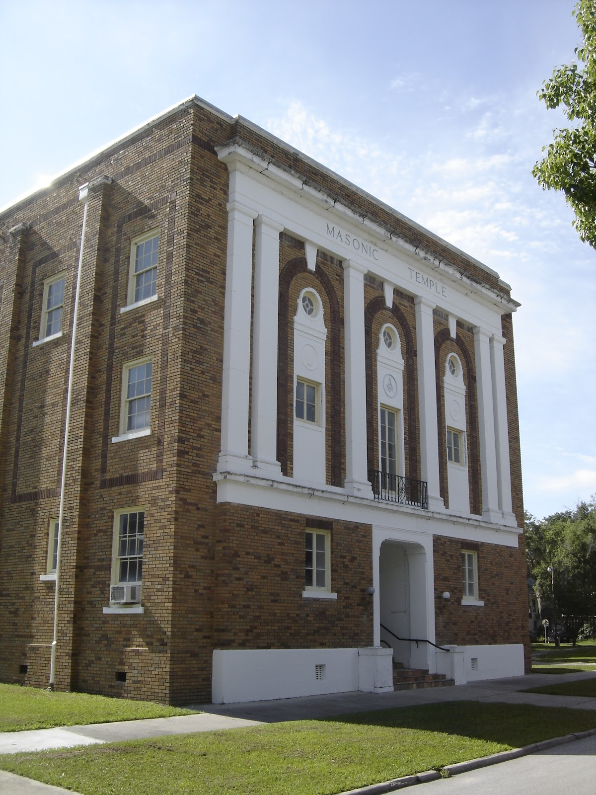Places To Go, Buildings To See: Masonic Temple - Bartow ...