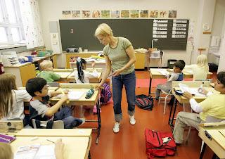 Guru di sekolah Finlandia