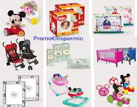 Logo ''Concorso Disney Baby'': vinci forniture pannolini, kit passeggini e lettini, kit Girelli e sdraiette e non solo!