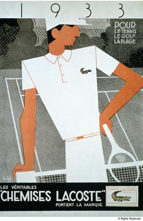 Lacoste Ad 1933