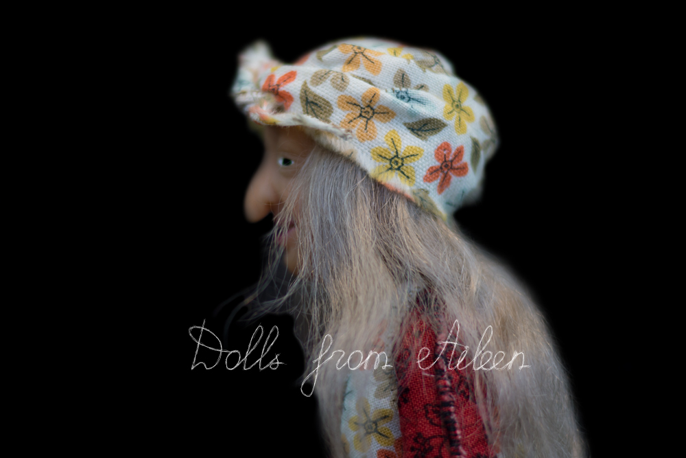 ooak hand sculpted artist doll
