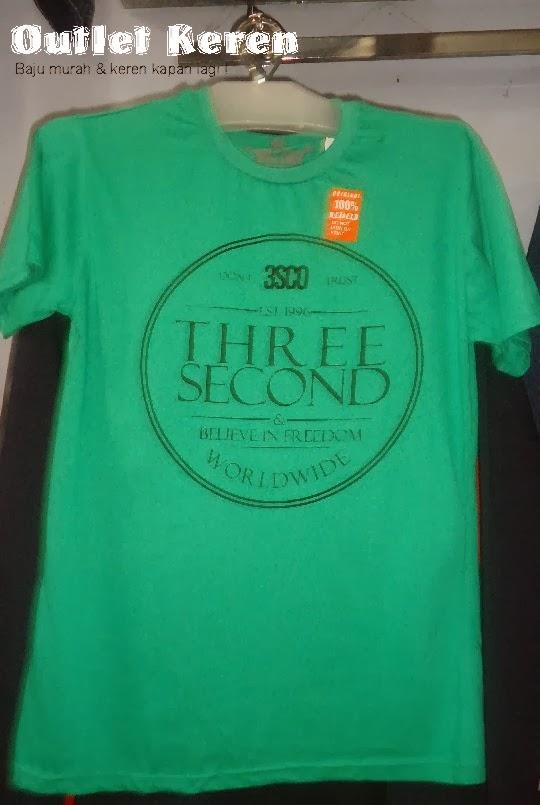 Jual Kaos Pria Three Second Murah 881bf0d95b
