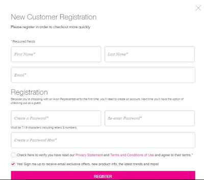 How to Register as New Avon Customer