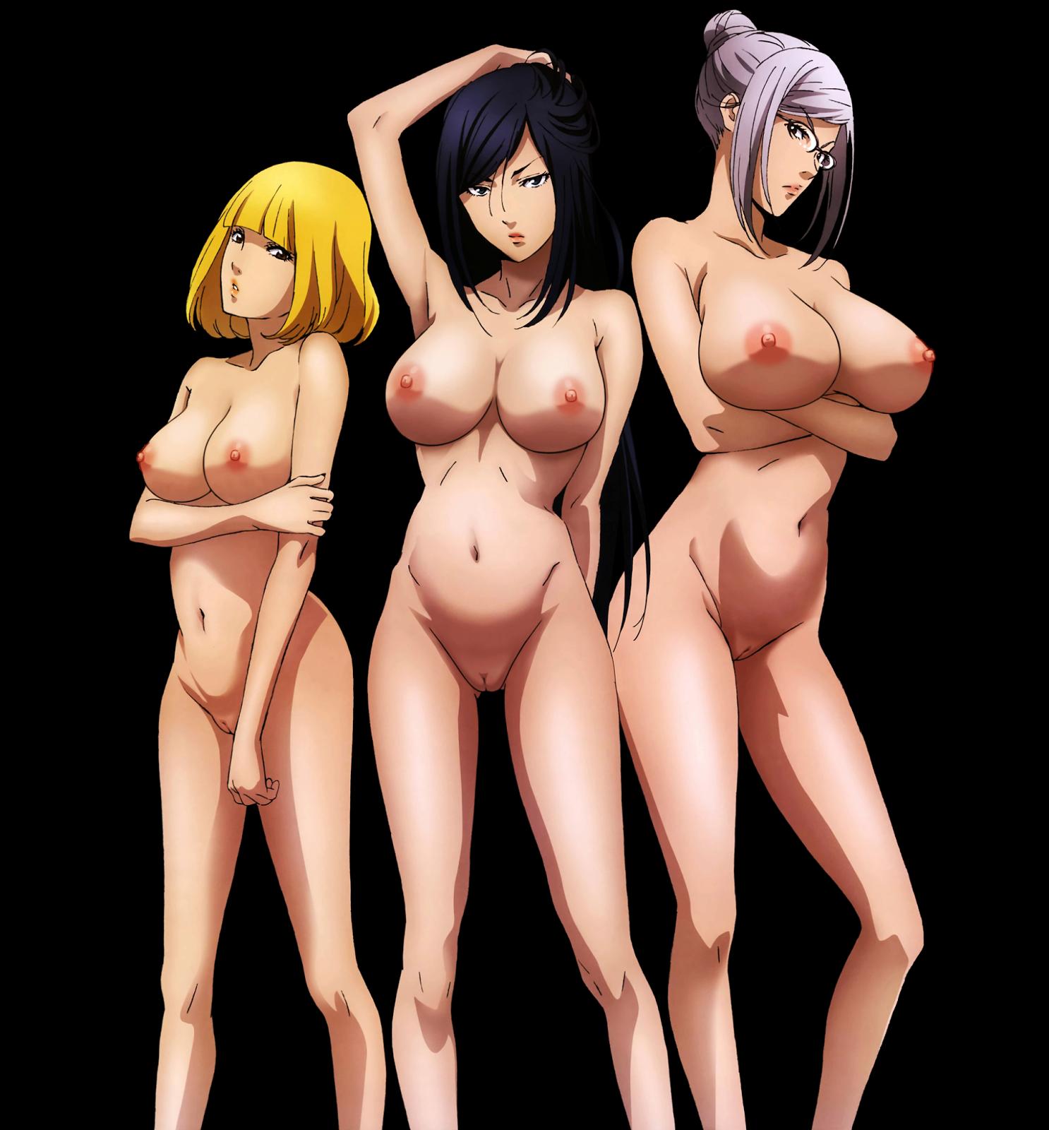 prison school nude