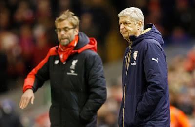 Liverpool, City, dan Arsenal Berebut Akhiri Musim di Empat Besar
