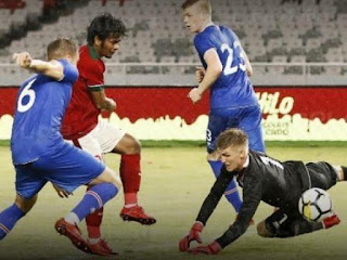 Indonesia 1 Islandia 4