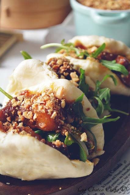 Gua bao con panceta al estilo oriental - Los chatos chefs