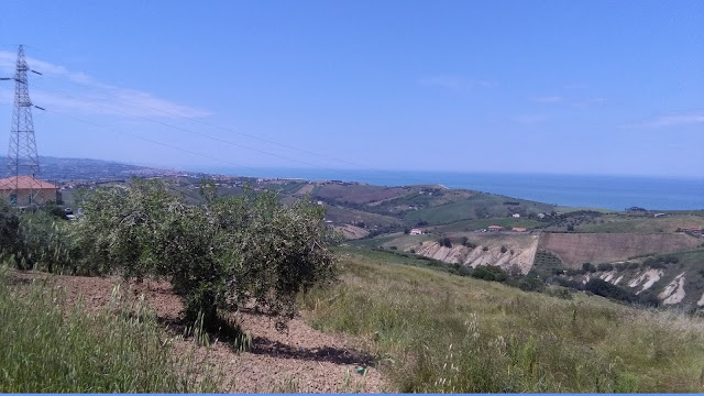 countryside areas of roseto degli Abruzzi