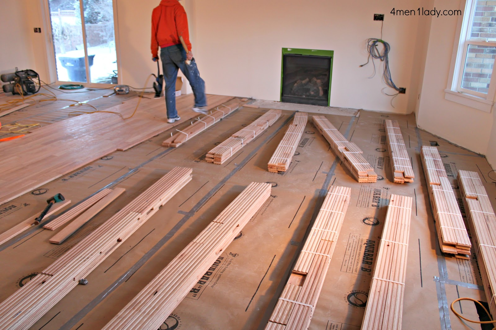 How To Install Solid Hardwood Floor